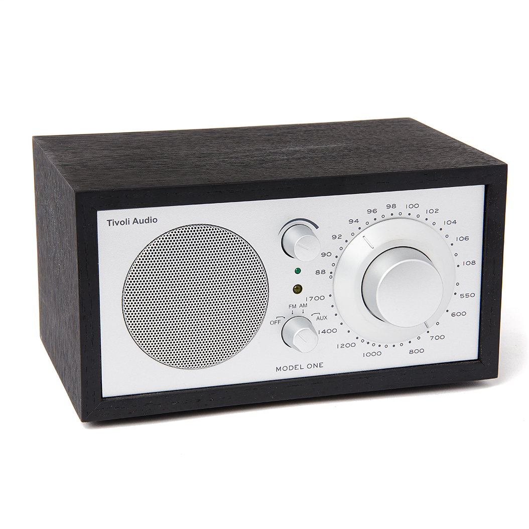 tivoli model one am fm radio with bluetooth collegiate supply co. Black Bedroom Furniture Sets. Home Design Ideas