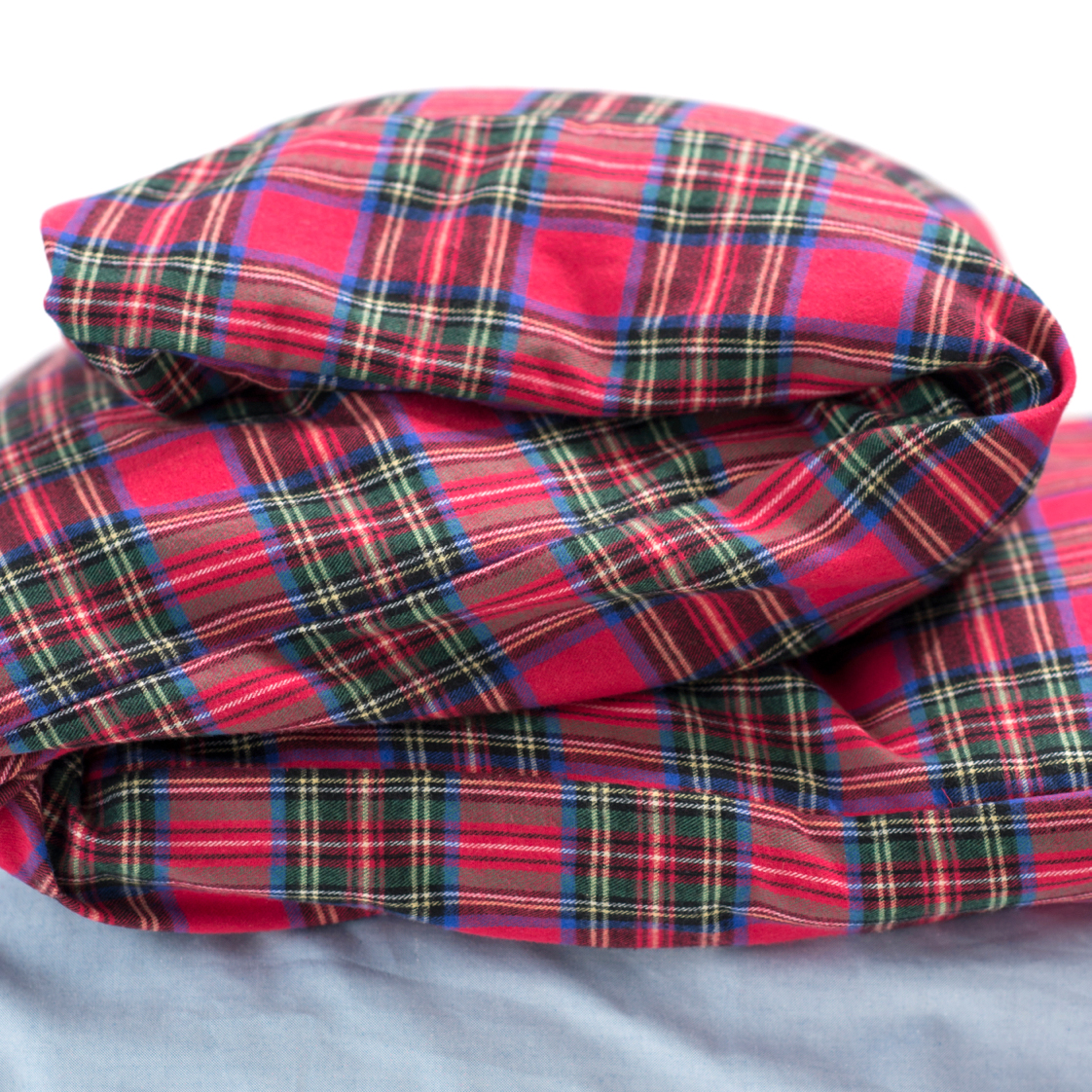 Charlie's Original Duvet Cover red plaid dorm room bedding