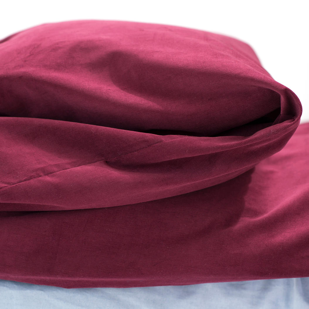 Charlie's Original Duvet Cover Maroon dorm room bedding