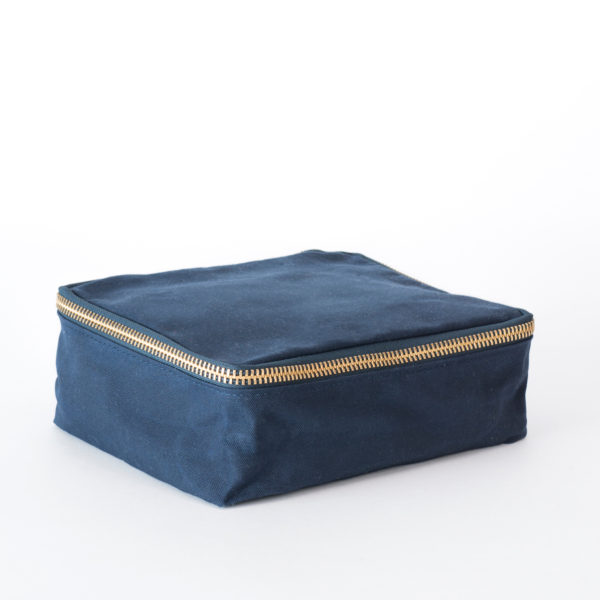 Field Ready Canvas dopp kit blue college dorm room supplies